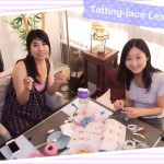Tatting-lace Lesson July 2014