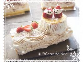 クリスマスケーキ[ブッシュドノエル]