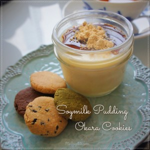 150705-soy milk pudding & okara cookies