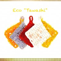 Knitting-eco tawashi